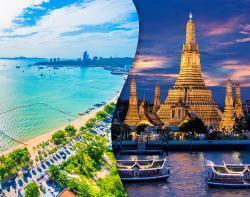 تور ترکیبی  بانکوک +  پاتایا
