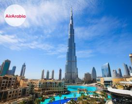 تور دبی با پرواز گارانتی ایر عربیا