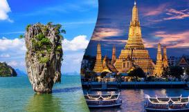 تور ترکیبی  بانکوک و پوکت